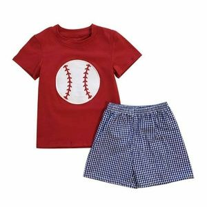 Boys embroidered baseball set NIP